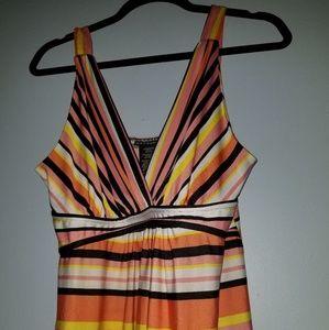 Metaphor maxi dress